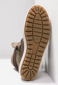 ecco - SOFT TRED - Zimní obuv - navajo brown/moon rock - 6