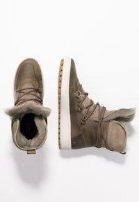 ecco - SOFT TRED - Zimní obuv - navajo brown/moon rock - 3