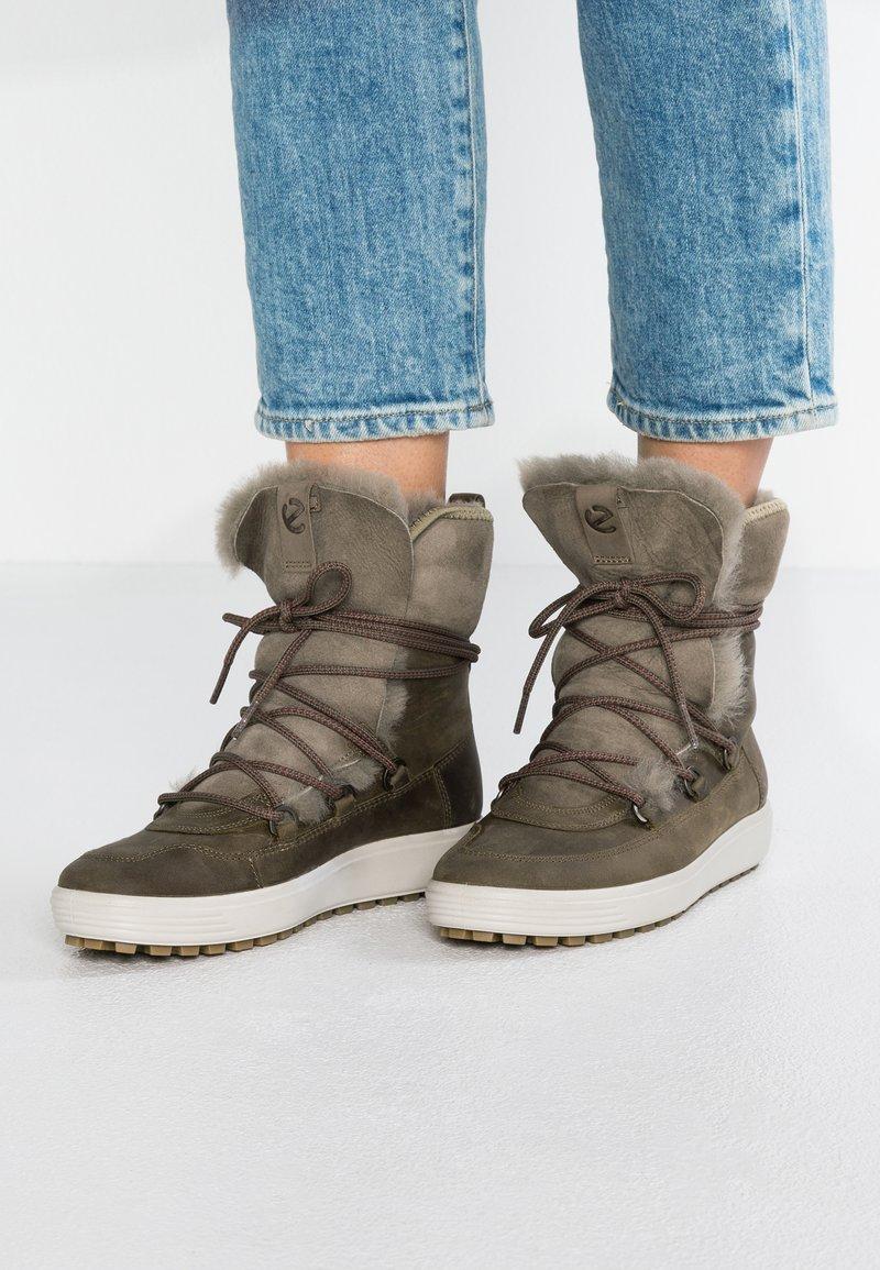 ecco - SOFT TRED - Zimní obuv - navajo brown/moon rock