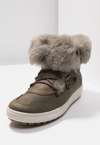 ecco - SOFT TRED - Zimní obuv - navajo brown/moon rock - 7