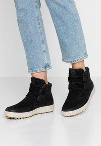 ecco - SOFT TRED  - Kotníková obuv - black - 0