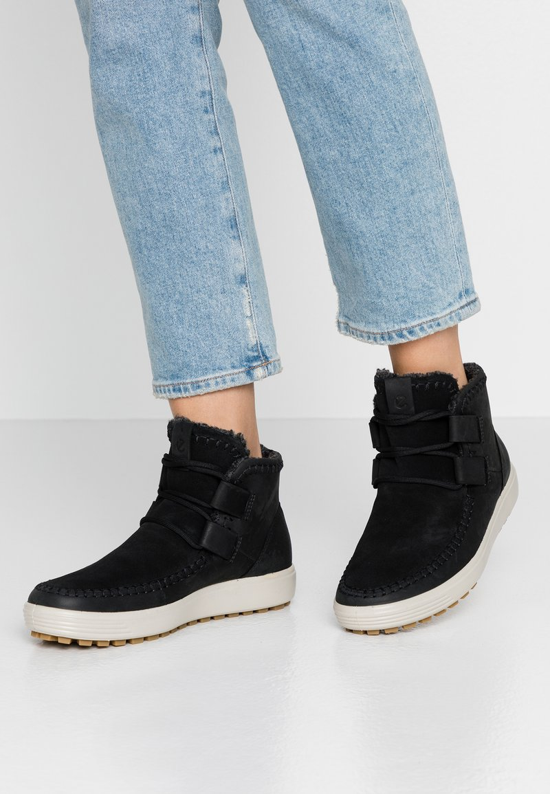 ecco - SOFT TRED  - Kotníková obuv - black