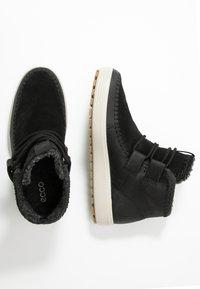 ecco - SOFT TRED  - Kotníková obuv - black - 3