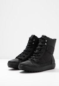ECCO - SOFT TRED - Winter boots - black - 4