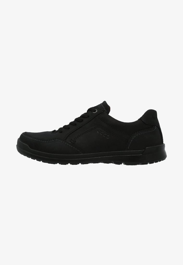 ecco - HOWELL - Volnočasové šněrovací boty - black