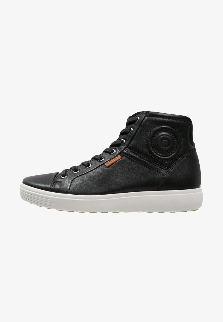 ecco - SOFT 7 - Sneaker high - black