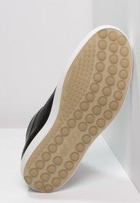 ecco - SOFT 7 - Höga sneakers - black - 4