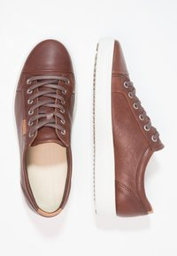 ECCO - SOFT MEN'S - Trainers - whisky - 1