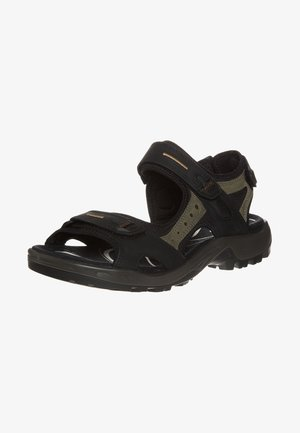 OFFROAD - Walking sandals - black/mole/black oil