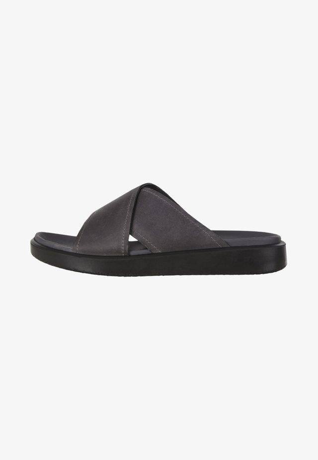 FLOWT - Pantolette flach - black