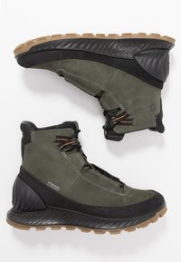 ECCO - Hiking shoes - black/deep forest - 1
