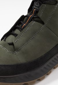 ECCO - Hiking shoes - black/deep forest - 5