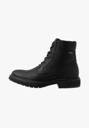 CREPETRAY HYBRID - Lace-up ankle boots - black