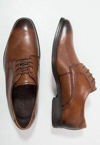 ecco - MELBOURNE - Elegantní šněrovací boty - amber the natural - 1