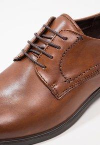 ecco - MELBOURNE - Elegantní šněrovací boty - amber the natural - 5
