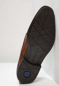 ecco - MELBOURNE - Elegantní šněrovací boty - amber the natural - 4