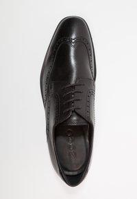 ecco - MELBOURNE - Eleganckie buty - black - 3