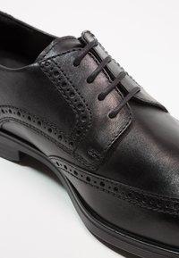 ecco - MELBOURNE - Eleganckie buty - black - 2