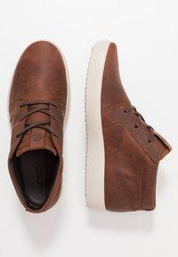 ecco - SOFT 7 - Höga sneakers - brandy - 1