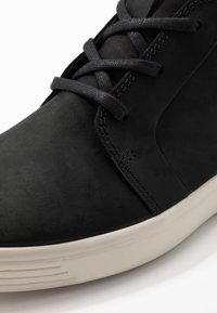 ecco - SOFT 7 - Höga sneakers - black - 5