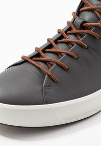 ecco - SOFT - Höga sneakers - magnet - 5