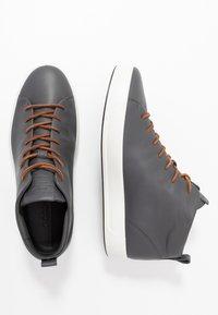 ecco - SOFT - Höga sneakers - magnet - 1