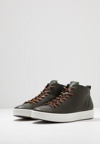 ecco - SOFT - Höga sneakers - deep forest - 2