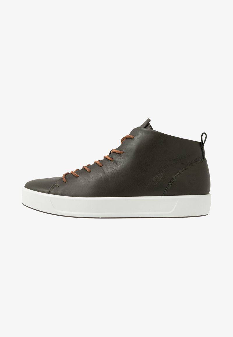 ecco - SOFT - Höga sneakers - deep forest