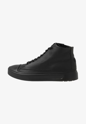 FLEXURE T-CAP - Höga sneakers - black