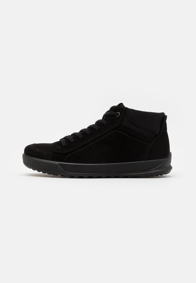 BYWAY - Sneakers high - black