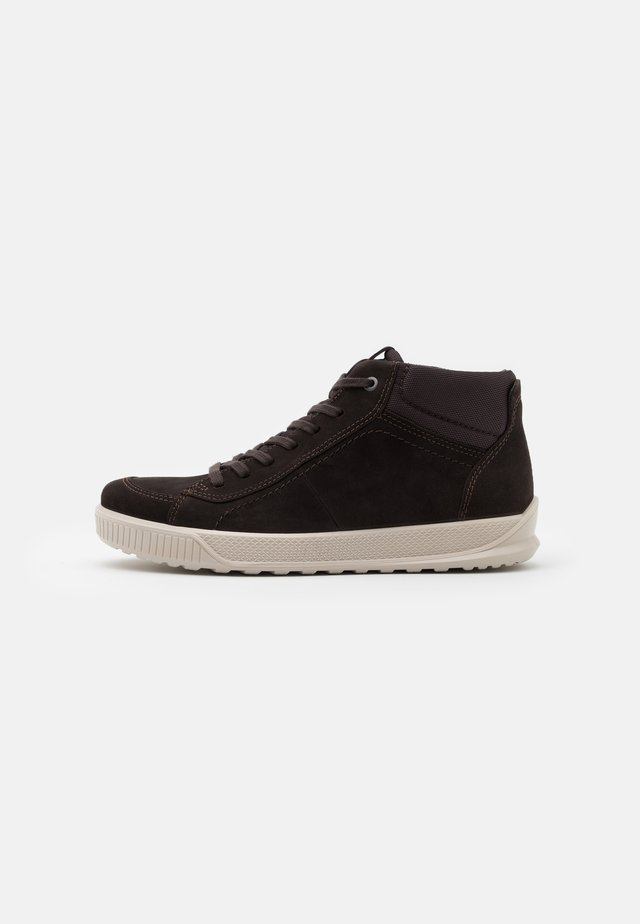 BYWAY - High-top trainers - licorice/shale