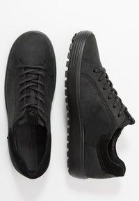 ecco - SOFT - Sneakers - black - 1