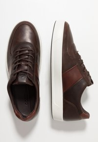 ecco - SOFT 8 - Sneakers - coffee/brandy - 1