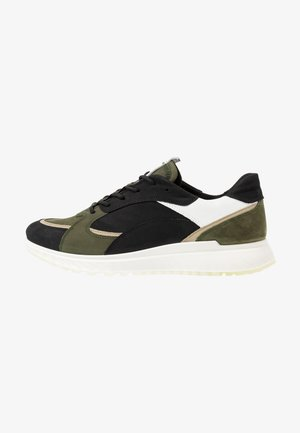 ST.1 M - Sneakersy niskie - black/deep forest/white/sage
