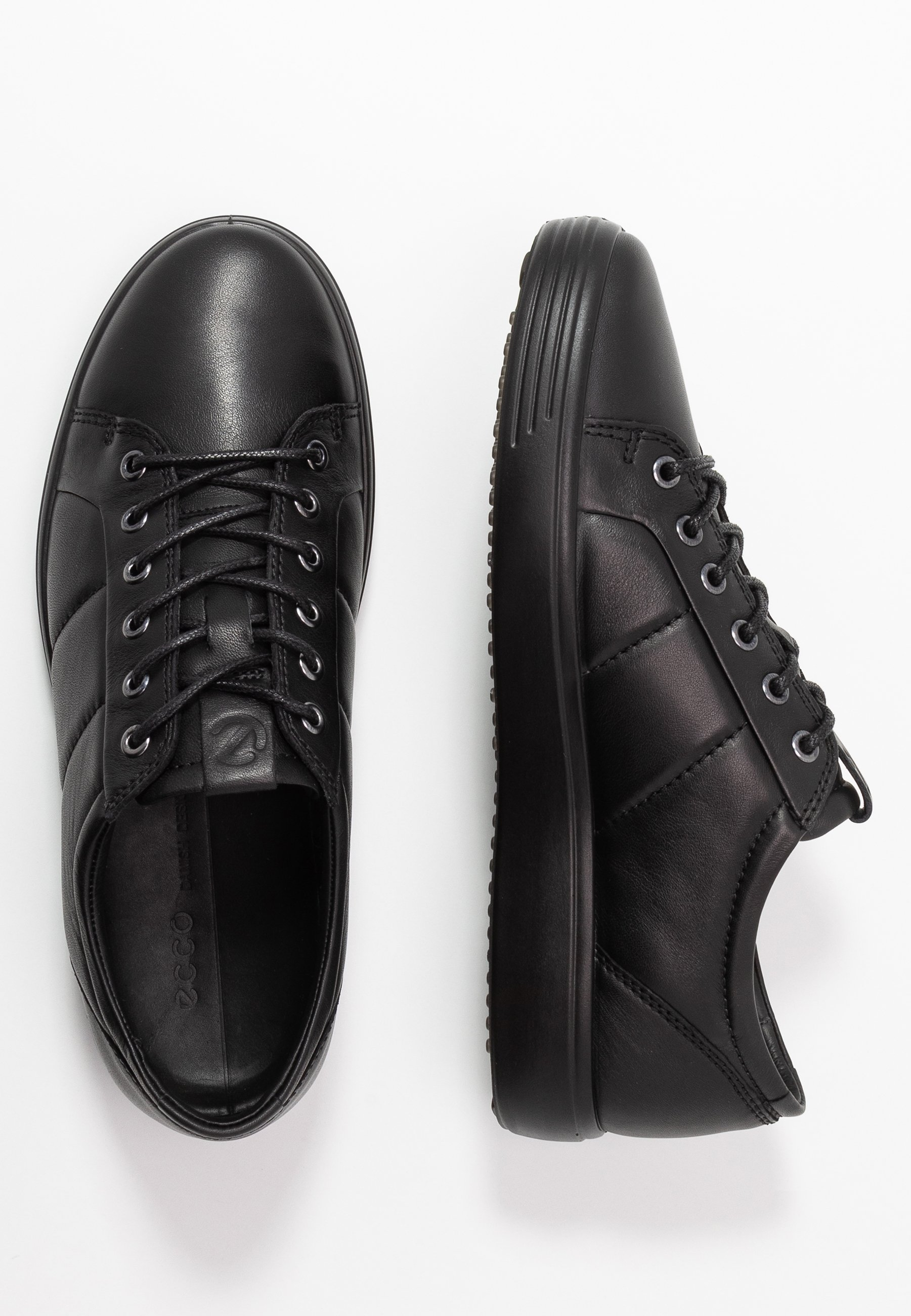 ecco SOFT - Sneakersy niskie - black