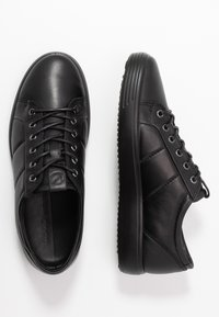 ECCO - SOFT  - Sneakersy niskie - black - 1