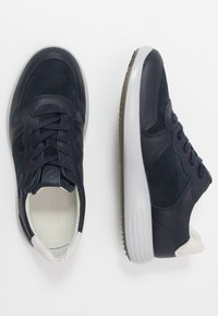 ECCO - SOFT RUNNER - Sneakers laag - night sky/navy/shadow white - 1