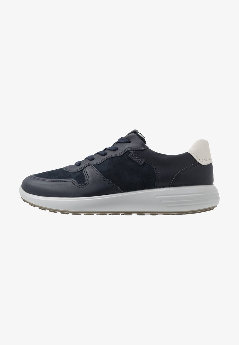 ECCO - SOFT RUNNER - Sneakers laag - night sky/navy/shadow white