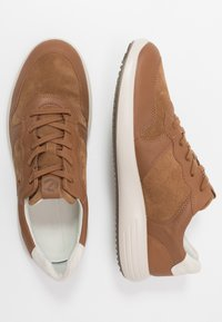 ECCO - SOFT RUNNER - Trainers - camel/shadow white - 1