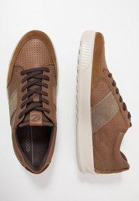 ECCO - BYWAY - Sneakersy niskie - camel/cocoa brown/navajo brown - 1