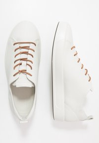 ECCO - SOFT 8 - Sneakersy niskie - white - 3