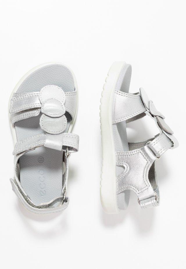 FLORA - Sandaler - silver metallic