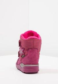 ecco - URBAN MINI - Stivali da neve  - red plum - 3