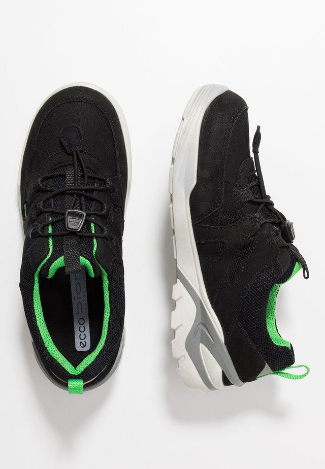BIOM VOJAGE - Sneaker low - black/clover