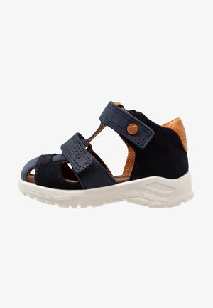 PEEKABOO - Baby shoes - night sky