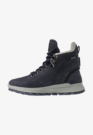 EXOSTRIKE KIDS - Lace-up ankle boots - night sky