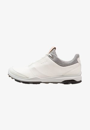 BIOM HYBRID 3 - Golf shoes - white/black