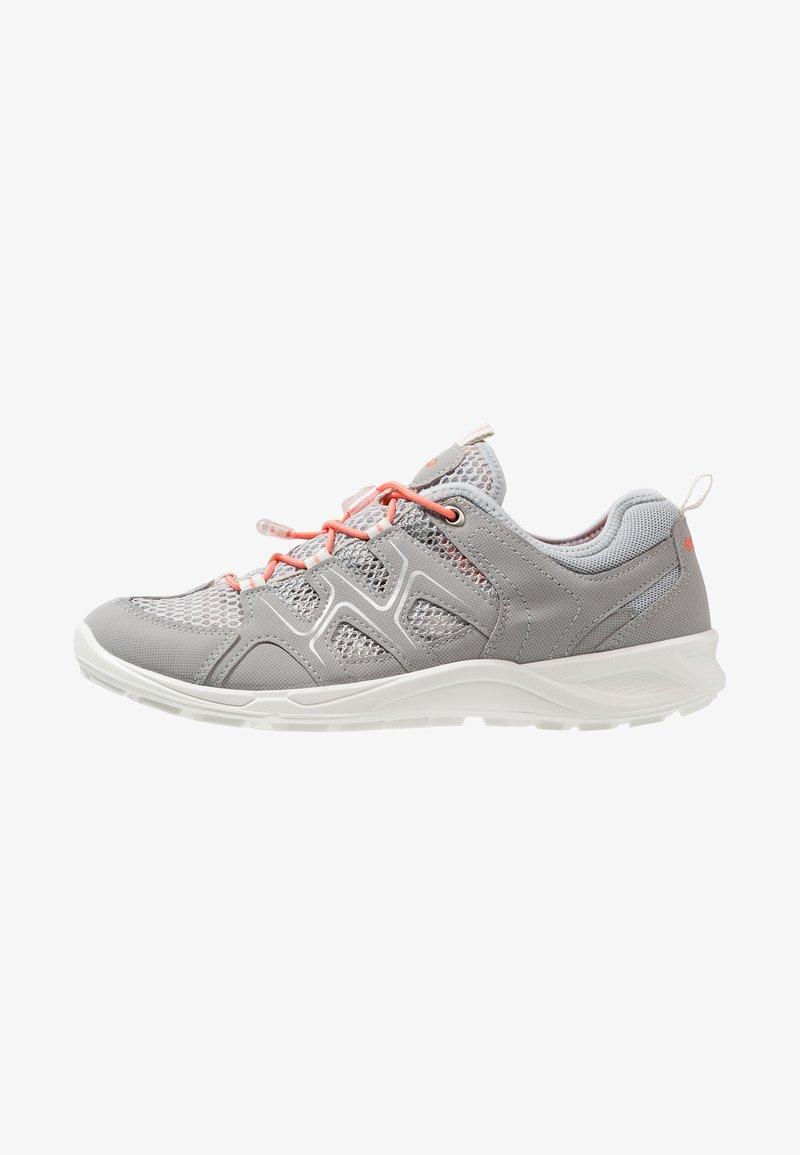 ecco - TERRACRUISE - Hiking shoes - silver grey/silver metallic