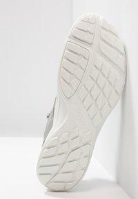 ecco - TERRACRUISE - Hiking shoes - silver grey/silver metallic - 4