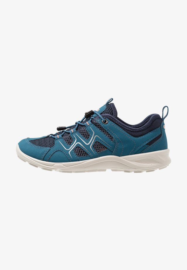 TERRACRUISE - Hiking shoes - indian teal/marine/muted clay